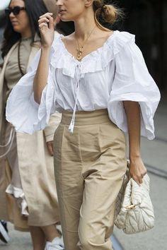 что такое раффл блуза? | СТИЛЬ МОДА ТРЕНДЫ | Яндекс Дзен