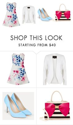 4 Robes -4 Ensembles_# 4 par Studio-Stiletto by studiostiletto on Polyvore featuring mode, Lipsy, River Island, JustFab and Betsey Johnson