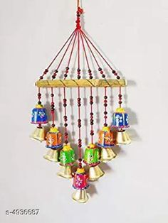 Wind Chimes Stylish Home Hanging Wind Chimes Material: Terracotta Size (L X W X H): 30 cm x 5 cm x 50  cm Description: It Has 1 Piece of Hanging Wind Chimes Work: Handcrafted Country of Origin: India Sizes Available: Free Size *Proof of Safe Delivery! Click to know on Safety Standards of Delivery Partners- https://ltl.sh/y_nZrAV3  Catalog Rating: ★4.1 (1632)  Catalog Name: Stylish Home Hanging Wind Chimes Vol 1 CatalogID_321271 C127-SC1619 Code: 491-4936687-