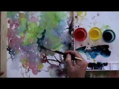 This watercolor painting video workshop features top watercolor painting techniques from expert artist, Lian Quan Zhen. Step-by-step Lian Quan Zhen shows you how to mix clean colors, create concrete shapes, paint negatively & much more. Watercolor Video, Watercolor Painting Techniques, Watercolour Tutorials, Painting Videos, Painting Lessons, Watercolour Painting, Art Lessons, Painting & Drawing, Watercolours