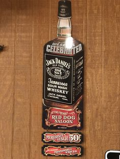 Early Advertising signs for bars and liquor stores. Very hard to find Jack Daniel's item. Men Cave, Cigars And Whiskey, Liquor Store, Advertising Signs, Jack Daniels, Scotch, Mirrors, Alcohol, Bar