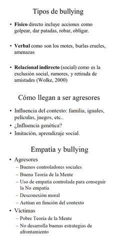 ... TIPOS DE BULLYNG.