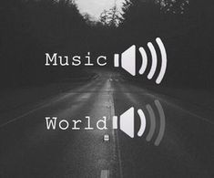 Image result for music:on World:off