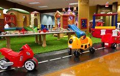 Cafe O' Play Kids Playplace Playground Coffeehouse, Coffee Shop & Kids Indoor Playground Indoor Playroom, Indoor Playhouse, Build A Playhouse, Playroom Decor, Playroom Ideas, Kid Playroom, Playroom Design, Kids Play Area, Kids Room