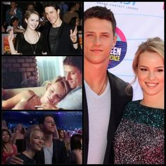 Cutest couple award!! Bridgit mendler & Shane Harper!