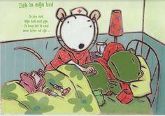Ziek in mijn bed