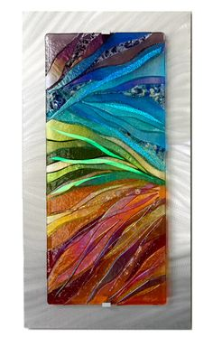 Beach Glass art With Resin - Glass art Videos Patterns - Glass art Projects Decoration - - Broken Glass art DIY - Glass Artwork, Glass Wall Art, Sea Glass Art, Stained Glass Designs, Stained Glass Art, Fused Glass, Blown Glass, Kunst Portfolio, Glass Fusion Ideas