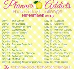 Planner Addicts Photo-a-Day Challenge - A Bowl Full of Lemons
