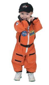 #NASA #Jr. #Astronaut #Suit /Child #Costume $36.99 save:7%      *100% Polyester; Hat: 100% Cotton     *Easy Access diaper snaps     *Official NASA patches, including special commander patch     *Official looking embroidered NASA cap with soft terry cloth band lining the inside rim     *High Quality Construction     *Recommended Age Range 16 - 21 Months  #Halloween #Child