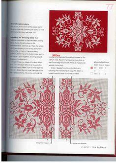 Gallery.ru / Фото #62 - Red & White Cross Stitch - Malee