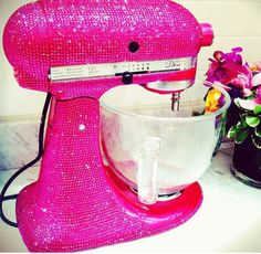 pink kitchen appliances from cuisinart on gilt home. so cute
