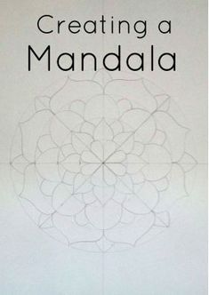 Grade / Year Level :: Secondary Education :: Year 10 :: Creating a MandalaDBTFreebie - Looking for an activity with little preparation and engaging…how to create a mandala // diy // journalingThis art lesson is designed to be implemented by a relief tea Mandala Design, Mandala Pattern, Zentangle Patterns, Zentangles, Pattern Art, Mandala Drawing, Mandala Painting, Dot Painting, Mandala Art Lesson