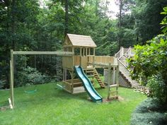 Backyard Playground | Custom Wooden Swing Sets & Playsets in Raleigh NC, Richmond VA, Woodbridge, & more