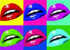Pop Art Lips. Photo by CV3shawty | Photobucket
