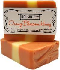 Orange Blossom Honey Handmade Soap #shoplocal #NYC #smallbiz