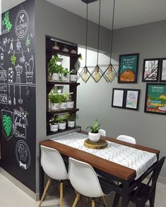 The Best 2019 Interior Design Trends - Interior Design Ideas Home Room Design, Home Decor Kitchen, Small Apartment Decorating, Dining Room Small, Dining Room Design, Home Decor, House Interior, Home Deco, Indian Home Interior