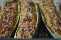 Recette - Courgettes farcies à la viande hachée | Notée 4.1/5