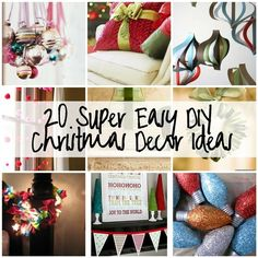 DIY Christmas Decor Ideas have-yourself-a-merry-little-christmas Merry Little Christmas, Christmas Love, All Things Christmas, Winter Christmas, Christmas Ideas, Handmade Christmas, Christmas Ornaments, Diy Christmas Decorations Easy, Holiday Crafts