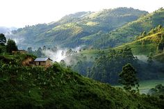 What an amazing view. Ugandan Landscape  --  Uganda