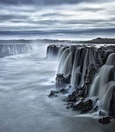 Selfoss waterfall, Iceland by Antony Spencer