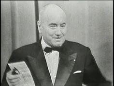 """Jean Nohain, c'était LE présentateur gentil de l'émission de variétés """"36 chandelles""""."""