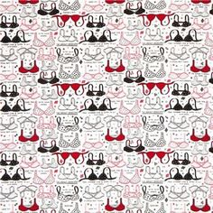 3c3b1201f8 US Designers – 168924 white bra designer fabric with funny – a unique  product by modes4u · Funny UnderwearTimeless Treasures ...