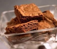 Weight Watcher's brownies - 3 PP per brownie.  Not that bad.