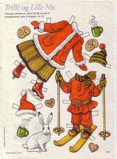 Image result for Swedish Paper Dolls - Trille og Lille Nis
