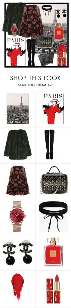 """""""Paris 2"""" by teresa-ramil ❤ liked on Polyvore featuring Trademark Fine Art, Oliver Gal Artist Co., Alexander McQueen, Thomas Sabo, Boohoo, Chanel, Avon and Karl Lagerfeld"""