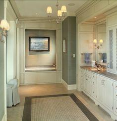 Tailored bathroom design, Phillip W Smith General Contractor, Inc