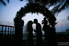 Monica and Shayne exchange vows