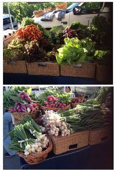 Summer means veggies a-plenty! Check out Long Meadow Ranch Winery & Farmstead's stand at the St. Helena Farmers Market at Crane Park on Friday morning to pick up some of these beauties.