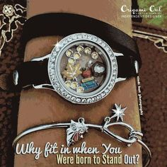 Beautiful Leather Wraps by Origami Owl! August 18th!