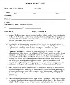 Room Rental AgreementRental Agreement Template  Rental And Lease
