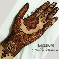 Mehndi Designs For Beginners - Type Design Dulhan Mehndi Designs, Mehndi Designs Finger, Basic Mehndi Designs, Henna Hand Designs, Latest Bridal Mehndi Designs, Mehndi Designs For Beginners, Mehndi Designs For Girls, Wedding Mehndi Designs, Beautiful Henna Designs