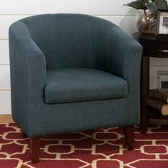 Jofran Chelsea Barrel Chair - Accent Chairs at Hayneedle
