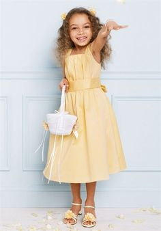 Flower girl dresses at davids bridal incorporates the one flower girl dresses at davids bridal incorporates the one shoulder from the bridesmaids dress we like and the tiers in my dress amcs wedding ideas mightylinksfo