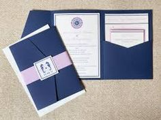 blue and pink/white wedding invitation - Google-søgning