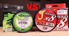 The Difference Between 4-Strand & 8-Strand Braided Line