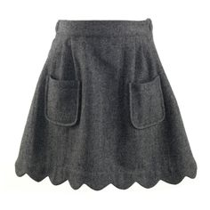 Rachel Riley~Clothing & Accessories Skirts Scalloped Edge Flannel Skirt