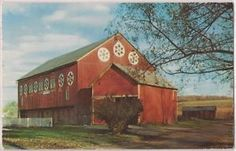 PA Barn with Hex Signs