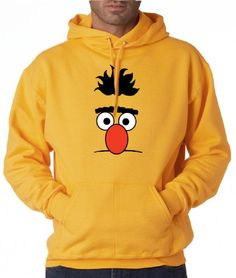 Sesame Street Bert Adult Printed Hoodie By Addicted2Shirts http://www.beststreetstyle.com/sesame-street-bert-adult-printed-hoodie-by-addicted2shirts-2/ #fashion   Sesame Street Bert Adult Printed Hoodie By Addicted2Shirts 50/50 Pullover Hoodie