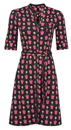 Tante Betsy Dress Frieda Daisy Black