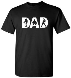 This baseball dad t-shirt allows dad to show his support to his favorite baseball player. It shows the world that we love our athletes. It makes a great dad Christmas gift or give as a birthday gift for dad. Gildan Cotton Crew Neck T-Shirt: - Unisex Adult Sizing - Preshrunk cotton - Seamless rib at neck - Double-needle stitching throughout - Sizes: S-XL All measurements are approximate and may vary slightly. Clothes can fit your body shape differently, so please use the chart as a guide It…