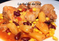 Porc à la mexicaine (Cookéo)