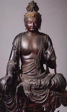 Realising Buddha nature and taking refuge in Buddha are the same experience. Gautama Buddha, Buddha Buddhism, Buddhist Art, Japanese Buddhism, Heian Period, Spiritual Images, Japanese Warrior, Religion, Guanyin