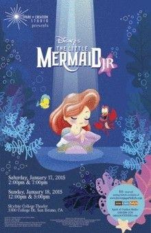 The Little Mermaid Jr. San Bruno, California  #Kids #Events