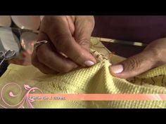 ▶ Saiba como fazer um lindo pano de copa com bordado eslavo! - YouTube