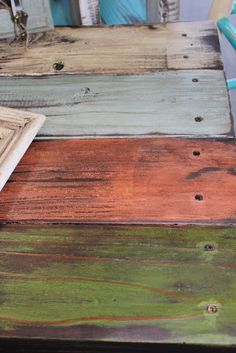 Numerous, Awesome finishes and styles for upcycling wood, furniture, etc. (or I just like the color and textures!)
