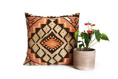 24x24'' kilim pillow kilim pillow cover kelim kissen